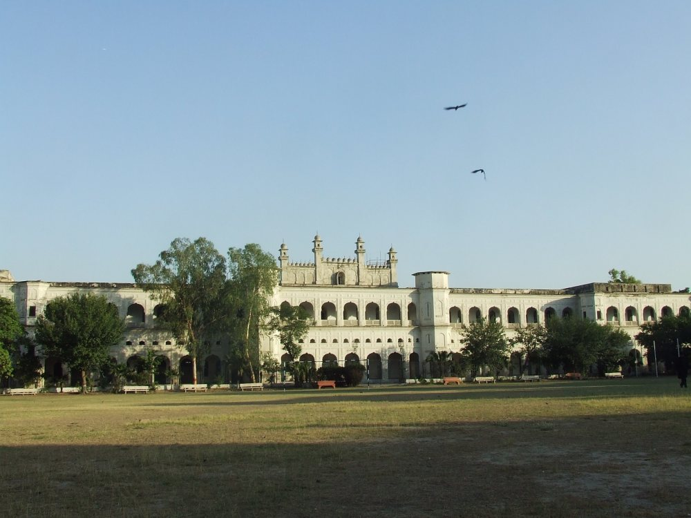 Islamia College in Lahore. Seen from its playing grounds. Image: The Alexander Wilson Estate. All Rights Reserved.