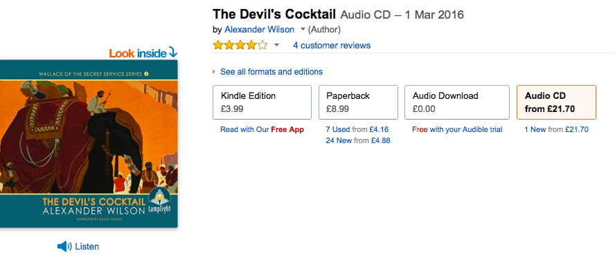 TheDevil'sCocktailAudiofromAmazon